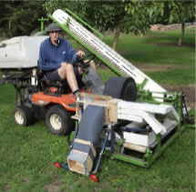 Hubber walnut harvester 2